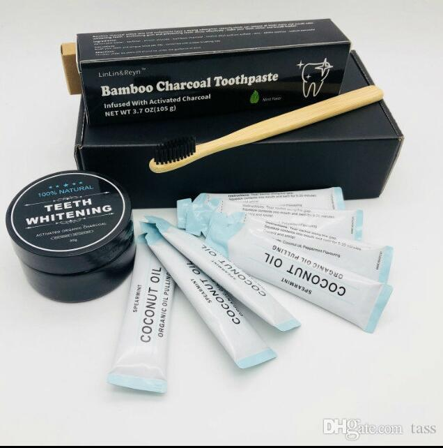 Free Dhl Oral Hygiene Toothpaste Bamboo Activated Charcoal Teeth