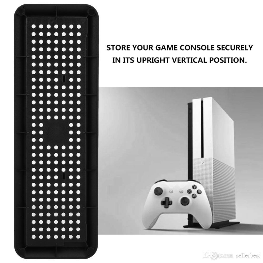 Refrigerador vertical suporte de base stand suporte dica para xbox one x consola de jogos