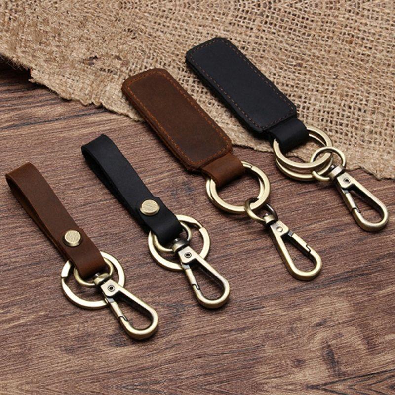 Key Chain Leather Belt Loop Key Holder Pocket Wallets Ring Keychain Keyring Keyfob Detachable Gifts Qdd9384 Keychains For Men Designer Keyrings From Zebrear 14 85 Dhgate Com