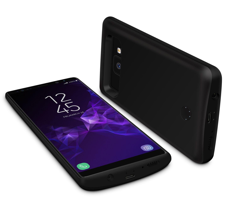 Samsung s9 건전지 상자를위한 뜨거운 판매 충전기 상자 5000mAh Galaxys 9plus 힘 상자 6000mAh 은하 s9 플러스를위한 휴대용 힘 은행 덮개