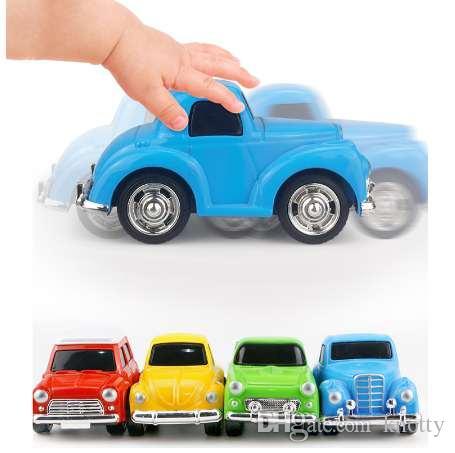 Мини сплава литья под давлением вытяните назад автомобиль модель игрушки для мальчики коллекция ребенок автомобиль Brinquedos Карро маленький гоночный трек симулятор подарок