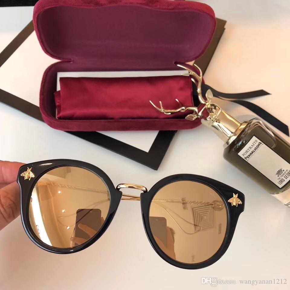 kutu ile son satan popüler moda GG07 kadın güneş gözlüğü mens güneş gözlüğü erkek güneş gözlüğü Gafas de sol en kaliteli güneş gözlüğü UV400 mercek