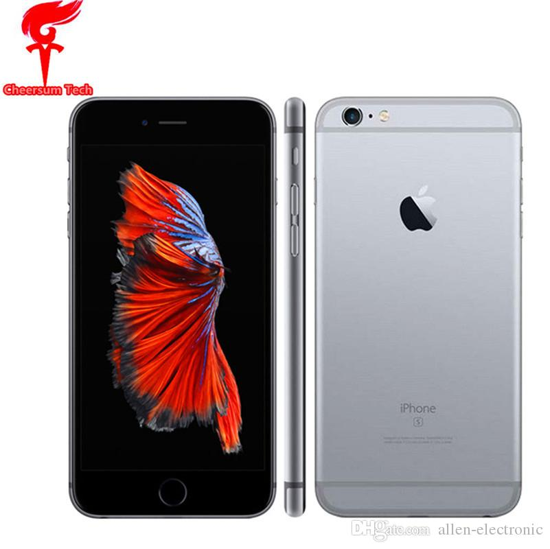 Refurbished Original iPhone 6S 6s plus with Touch ID 4.7 inch 5.5 inch IOS 9 Dual Core 2GB RAM 16GB 64GB 128GB ROM 12MP Camera iphone6s