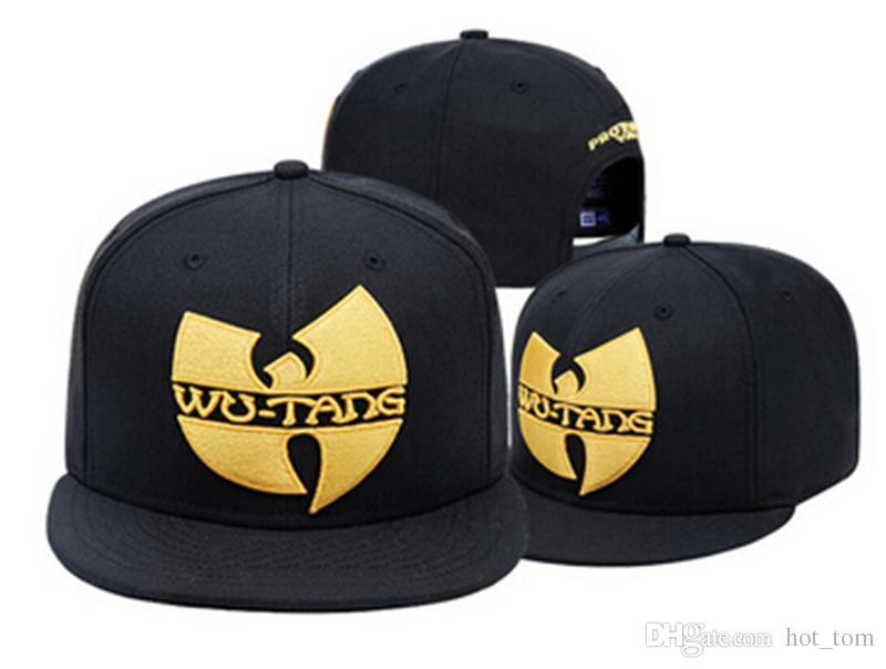 594ab0ff6c655 2018 New Wu Tang Snapback Hat WUTANG Baseball Cap Wu Tang Clan Bone Gorras  Visors Millinery From Hot tom