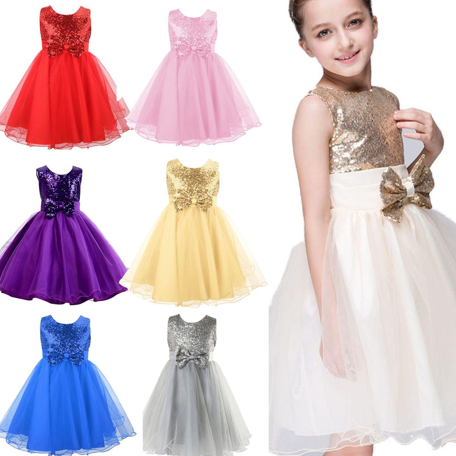 14 Fashion 14 Kids Girls Clothing Mädchen Fest Kleid Tüll Kinder  Abendkleid Blumenmädchen Party Hochzeit Ballkleid From Angelakids, $14.14