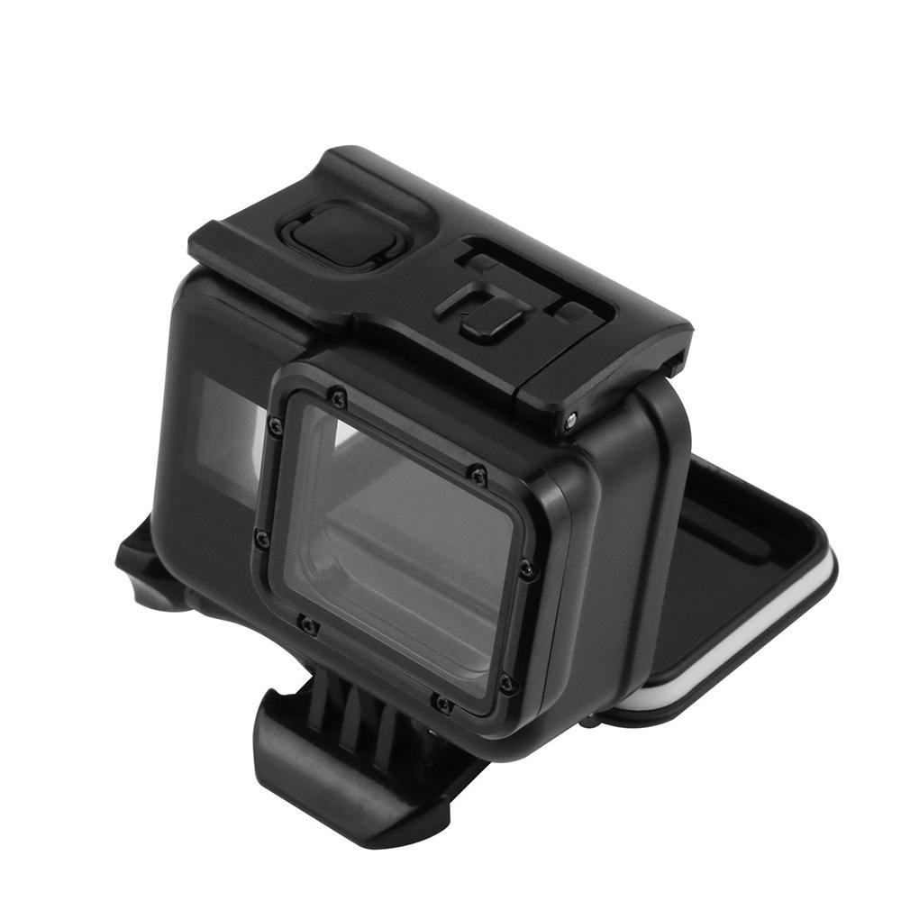 60m Waterproof Housing Case Touchable Cover for Gopro Hero 5/ 6 Black Edition Sports Action Cameras Accessories Protective Cases