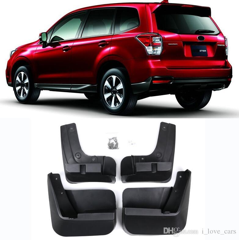 Red Hound Auto Compatible with Subaru Forester 2014-2018 Mud Flaps Splash Guards Rear Molded 2pc Pair