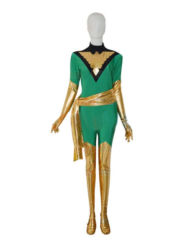 Jean Grey Phoenix Freeshipping Superhero Costume Woman Costume for Cosplay