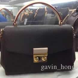 Kostenloser Versand Taschen Dame Taschen Echte Multifunktionale Schulter Frauen Quasten Handtasche Nizza Crossbody Pochette Leder 41581 LQoqa