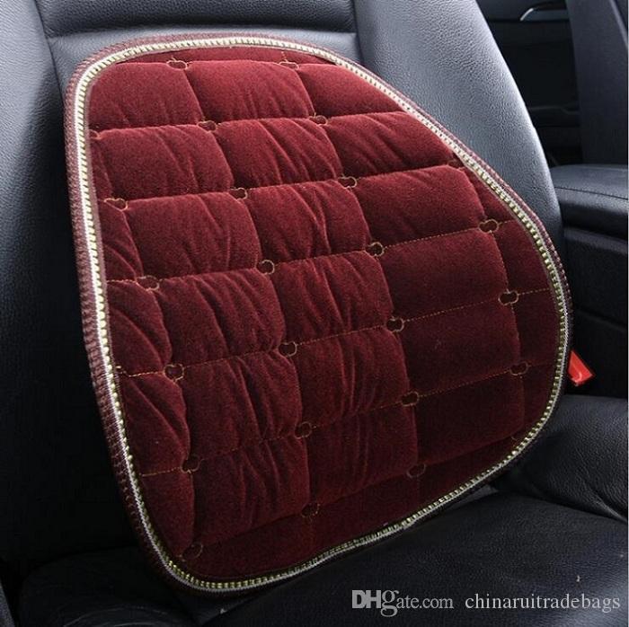 Coussin de taille / coussin de siège auto Universal Fit SUV berlines siège avant / siège automobile pièces en peluche
