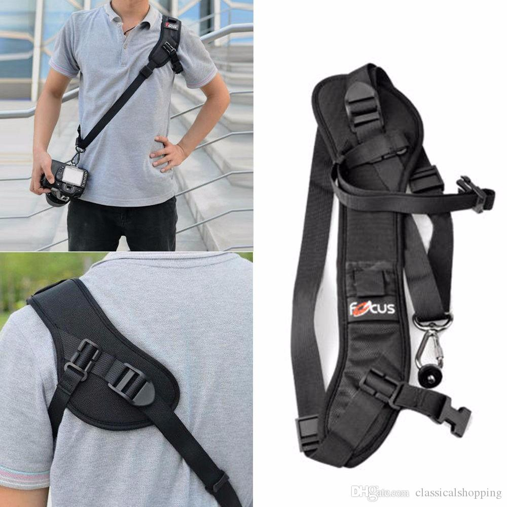 SLR Camera Quick Rapid Carry Speed shoulder Sling Belt Strap Holder for Canon Nikon DSLR