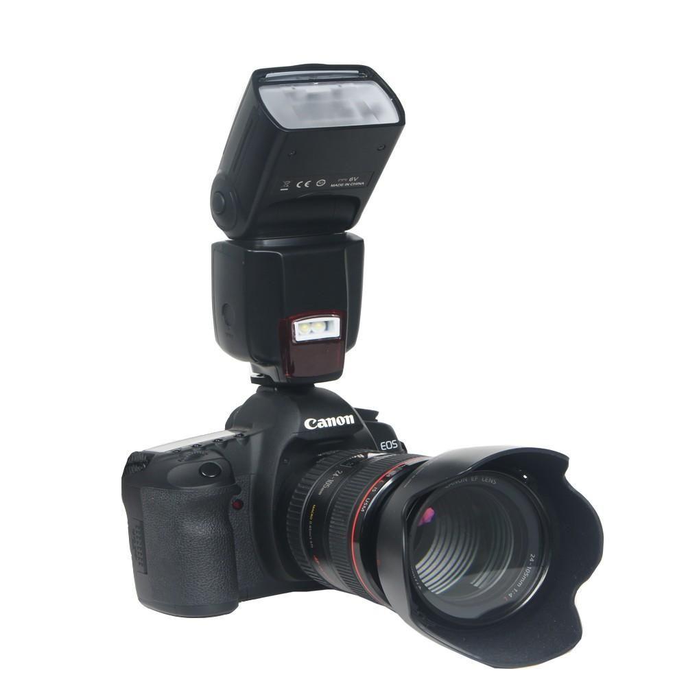 Lightdow WANSEN WS-560 Flash Light LED Speedlite لطراز نيكون كانون أوليمبوس بنتاكس العالمي