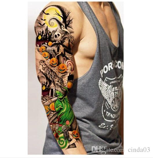 Großhandel Wasserdicht Temporäre Tattoos Aufkleber Für Körper Kunst Flash Tattoo Sleeve Sexy Produkt Gefälschte Metallic Tattoos Transfer Aufkleber