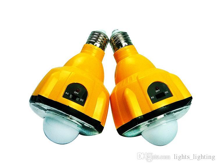 Economia de energia de controle remoto uma vez LED lâmpada