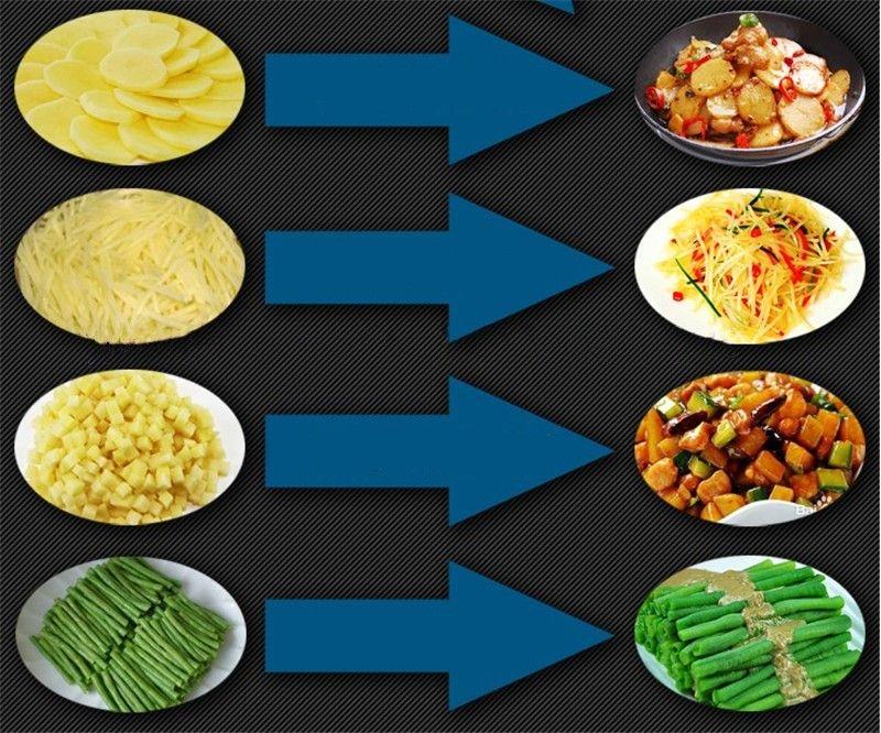 Freies verschiffen elektrische taro slicer kartoffelhacker karotte schneidemaschine gemüse kartoffelschneider schneiden ingwer draht maschine multifunktions c
