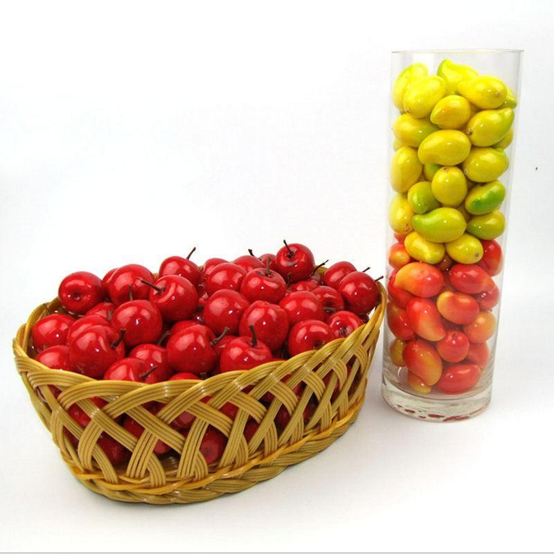 Mini Artificial Foam Fruits Fake Fruit Festival Decoration Kitchen Table  Wedding Party Christmas Decor Personalized Christmas Decorations Pictures  Of ...