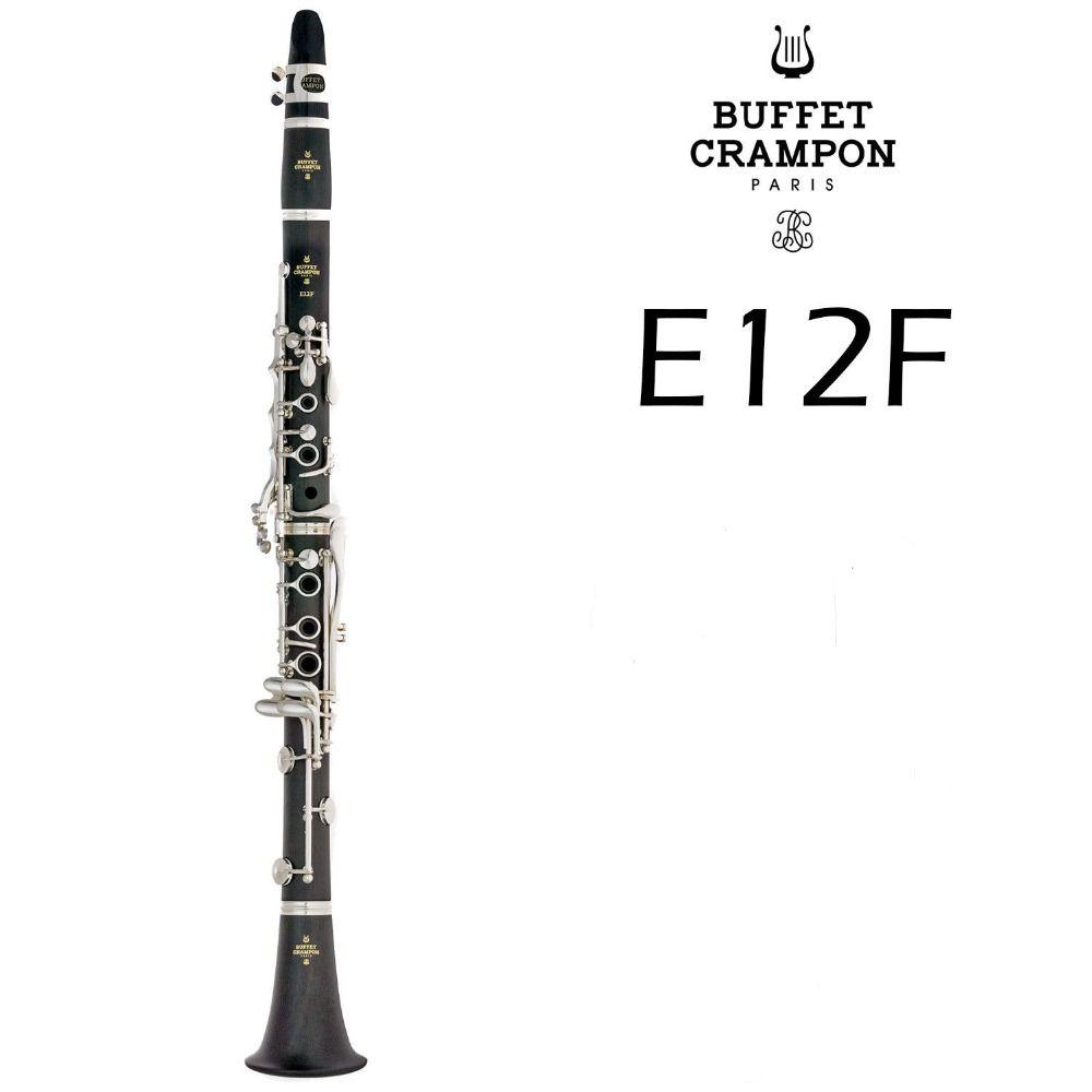 Sıcak Satış Büfe krampon E12F 17 Tuşlar Bb Klarnet Yüksek Kalite Ahşap bakalit Tüp B Düz Müzik Aletleri Klarnet ile Kılıf
