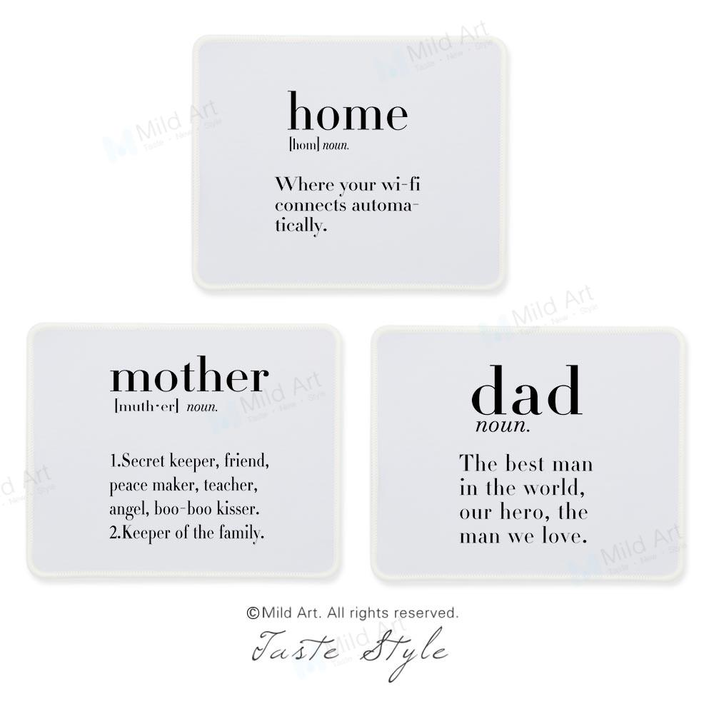 2019 Inspirational Quotes Nordic Home Mother Love Girl Friends Unique Gift  Black White Large Custom Prints Gaming Computers Mouse Pad From Bdgarden,  ...