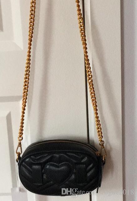 2018 nuevo estilo de diseño de moda bolsos de las mujeres bolsos de hombro bolso de cadena borla monedero cintura con el envío gratis