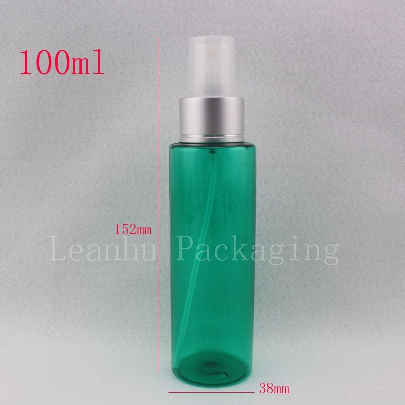 100ml-green-bottle-with-silver-spray