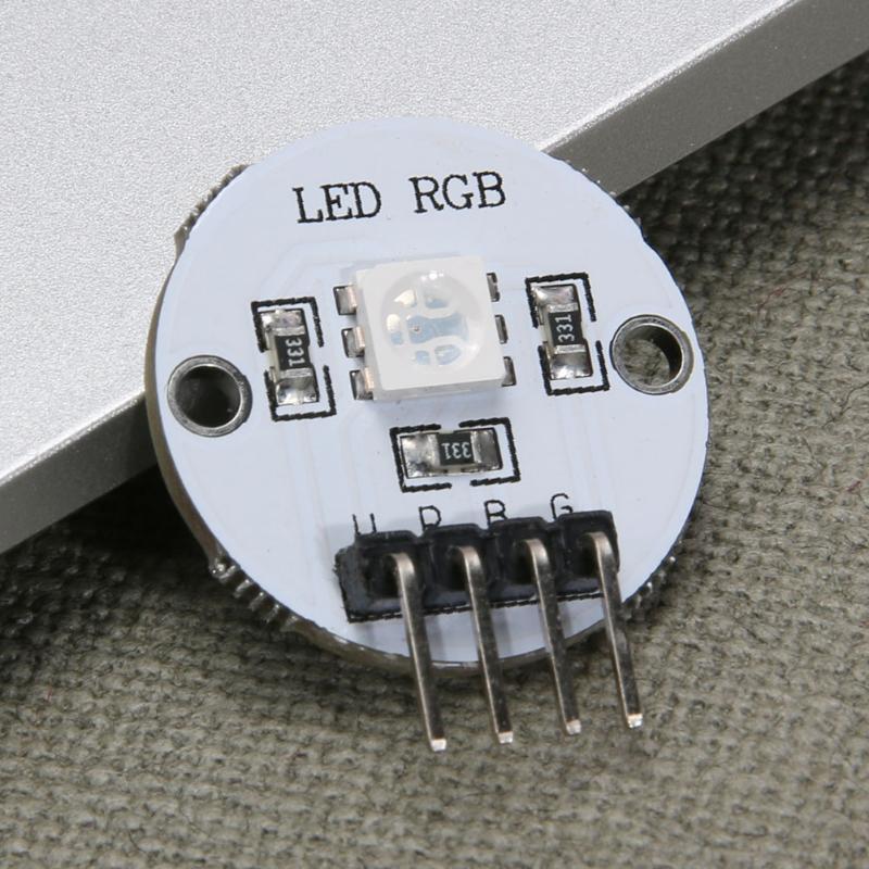 5050 Full Color RGB LED Light Module Extender Board for 51/AVR/AVR/ARM/Arduino