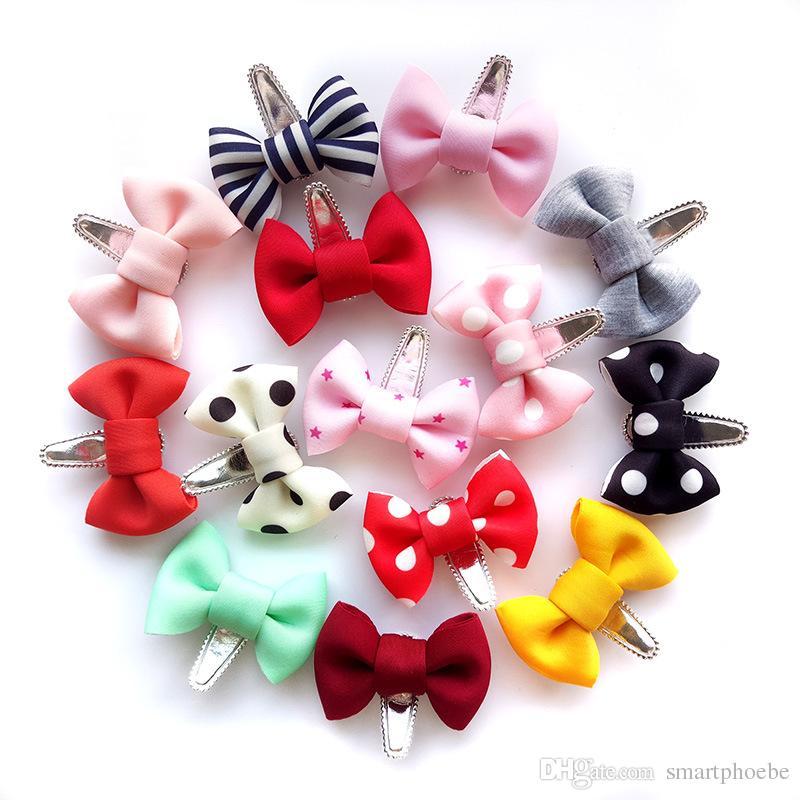 Kids Girl Hair Clips Tassel Mesh Bow Stars Hair Clip Headwear Hair Accessories