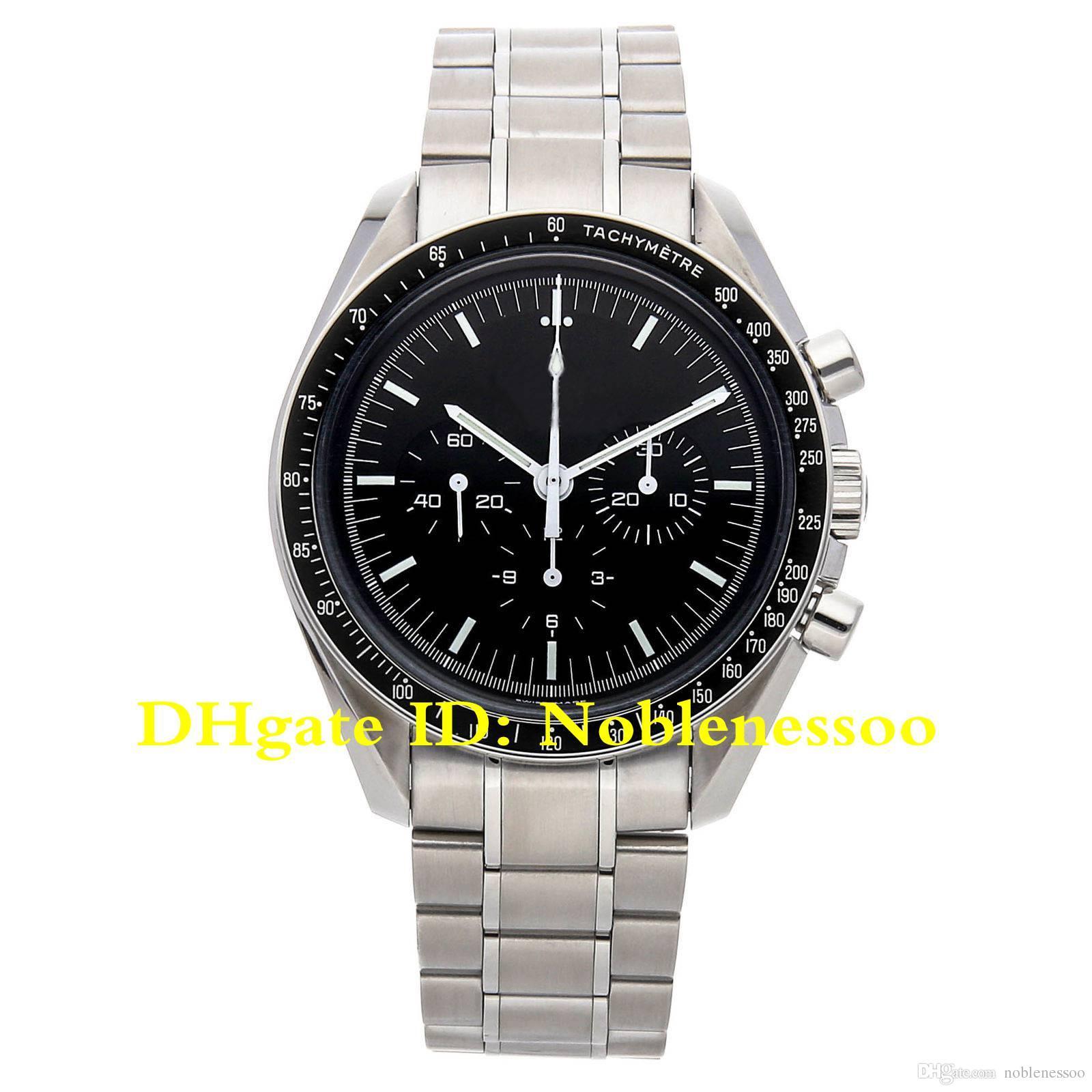 Luxus Herren-Uhr Mond-schwarzes Zifferblatt Vintage-Stahl Herrenuhr 3570.50.00 Planet Ocean Professioneller Nein Chronograph Automatik Herrenuhr
