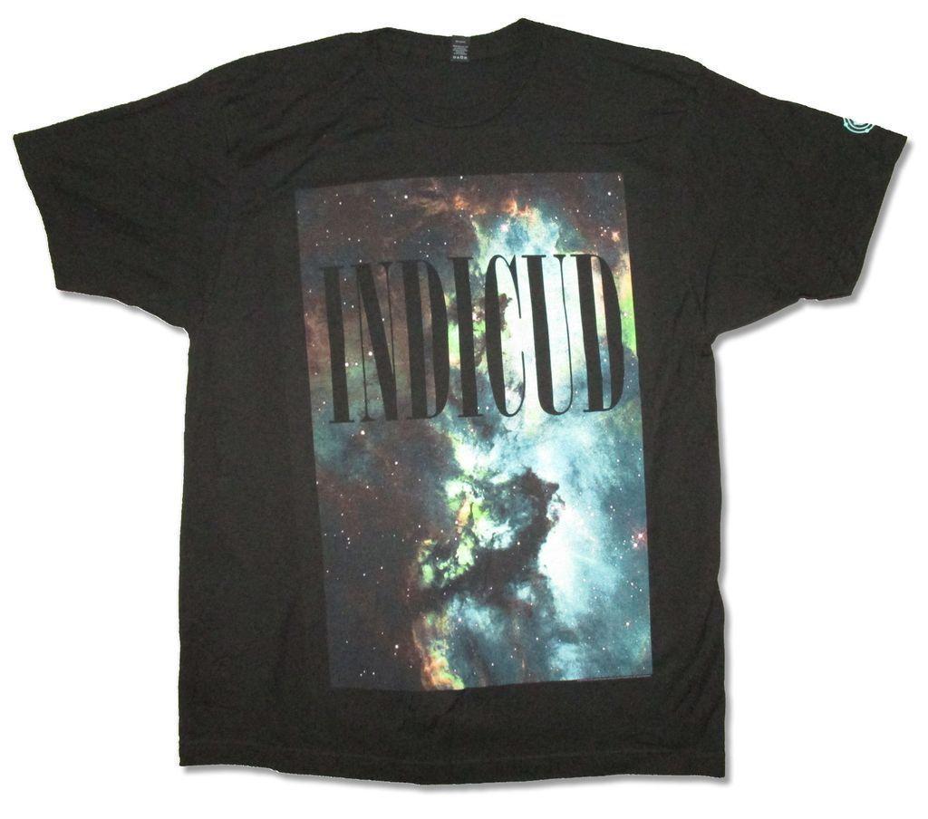 Kid Cudi Galaxy Stars Image Black T Shirt New Official New Fashion Mens Short Sleeve T shirt Cotton T Shirts