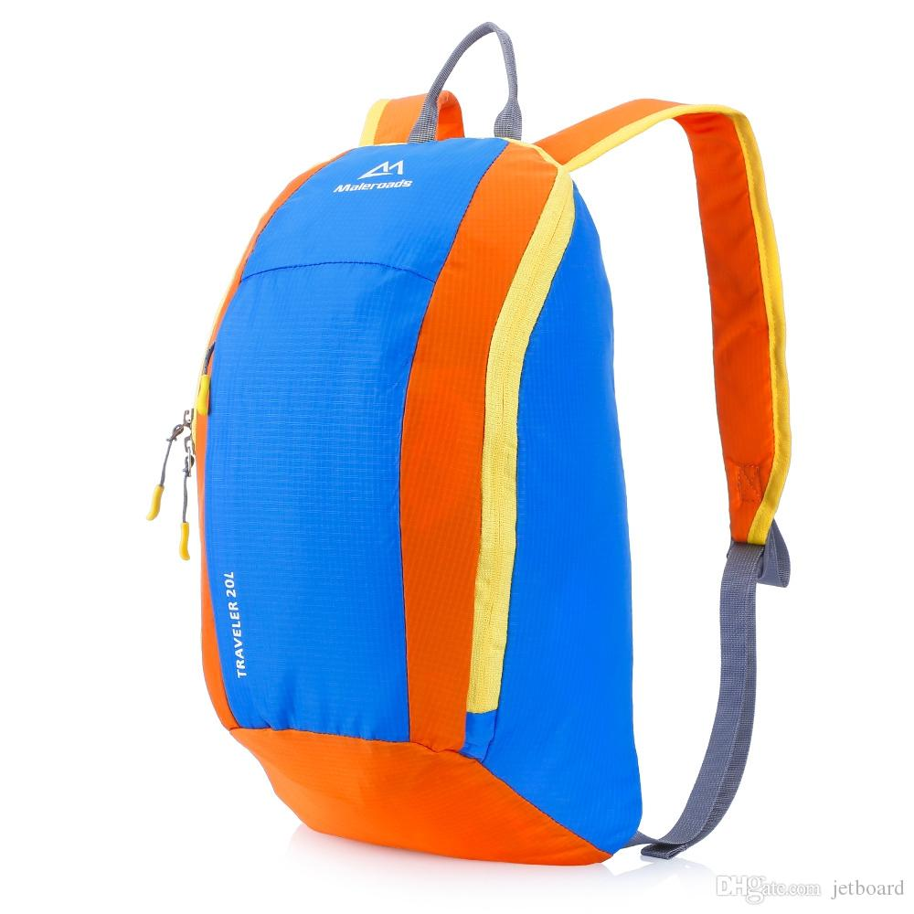 Climbing Bags Maleroads Climbing Hiking Backpack Mini Adult Sport Backpack Shoulder Bag Ultralight For Travelling Outdoor Activity
