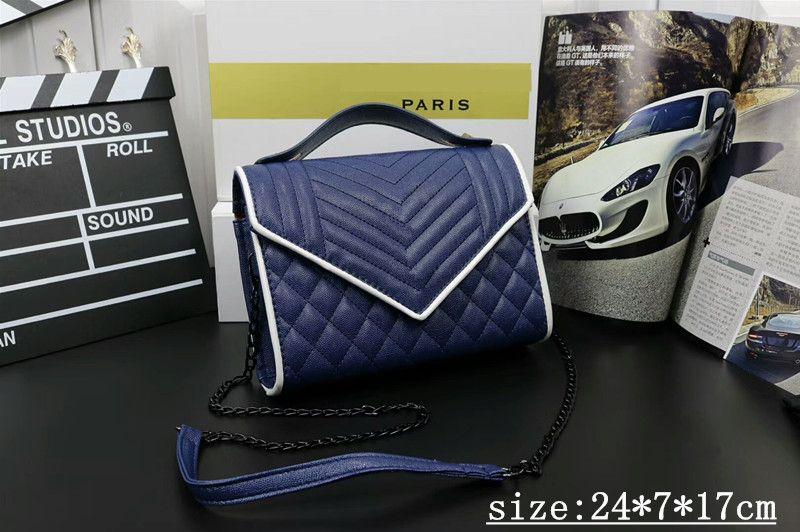 Hot 2018 new handbag fashion designer messenger bag high quality European and American women chain single shoulder bag