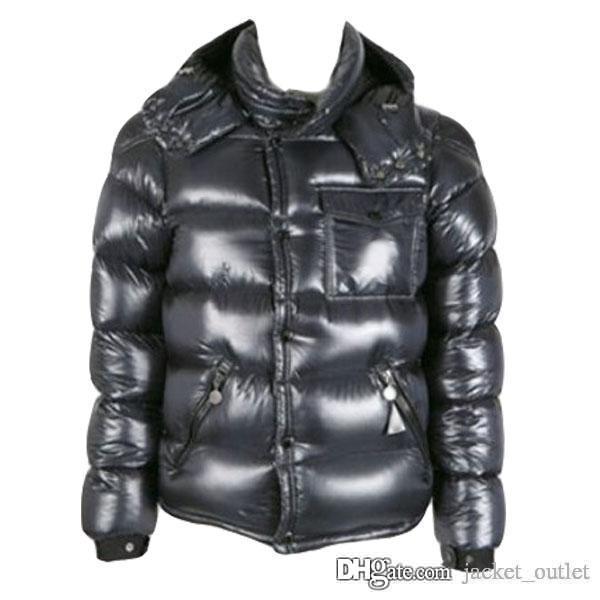 Buy Winter Down Jacket Men Warm Hoodies Coat Brand Designer Outerwear Parka Padded Outdoor Luxury Jackets Black Plus Size Cheap Sale