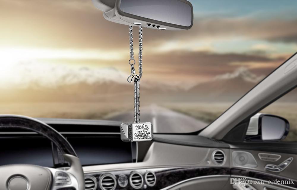 Colgante del coche Colgando Raytheon hammer Automóvil Adornos Interiores Decoración Espejo Retrovisor Accesorios Para Thor Ornamento de Coche