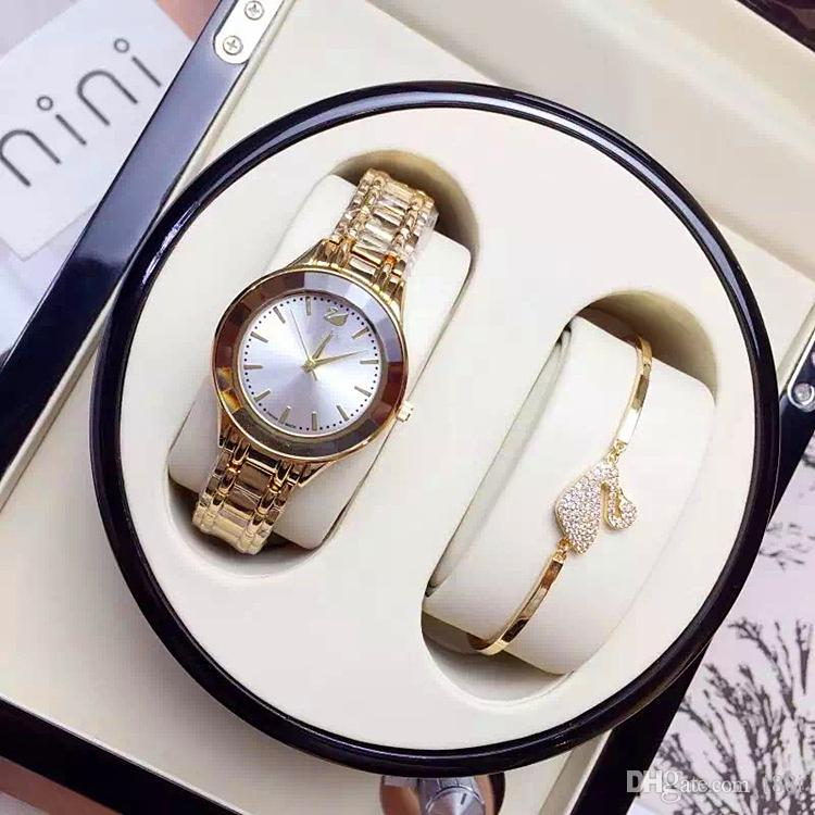 Hot sale Luxury Women watches Rose Gold Rhombus Dial Steel Bracelet Chain Dress watch Lady Wristwatches Nobel Female Quartz wholesale price