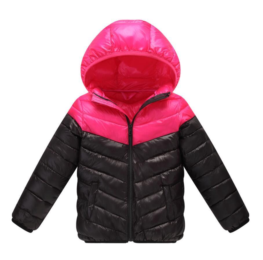 Compre Chaqueta De Los Niños Frivolous Cálido Invierno Niños Prendas De Vestir Exteriores De Los Niños Varones Chaqueta Con Capucha Abrigo Para Niños