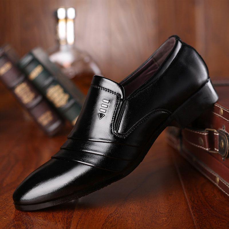 Black Office Shoe For Men Black Wedding