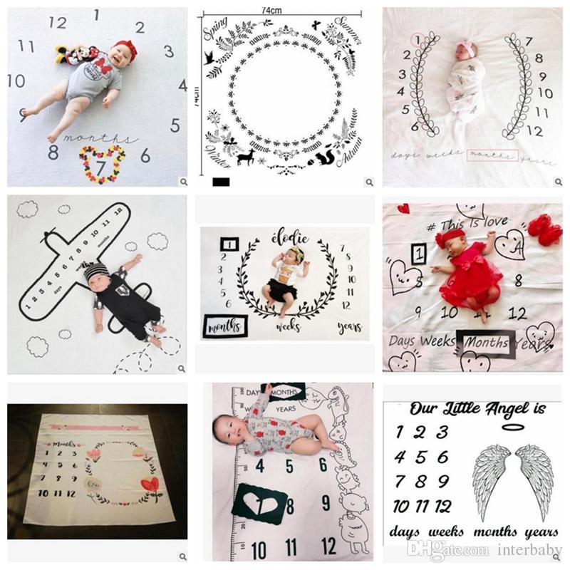 Baby Blankets Newborn Ins Swaddles Muslin Bath Towels Baby photography props Blankets Fashion Wraps Nursery Bedding Cotton Swadding YL19-1