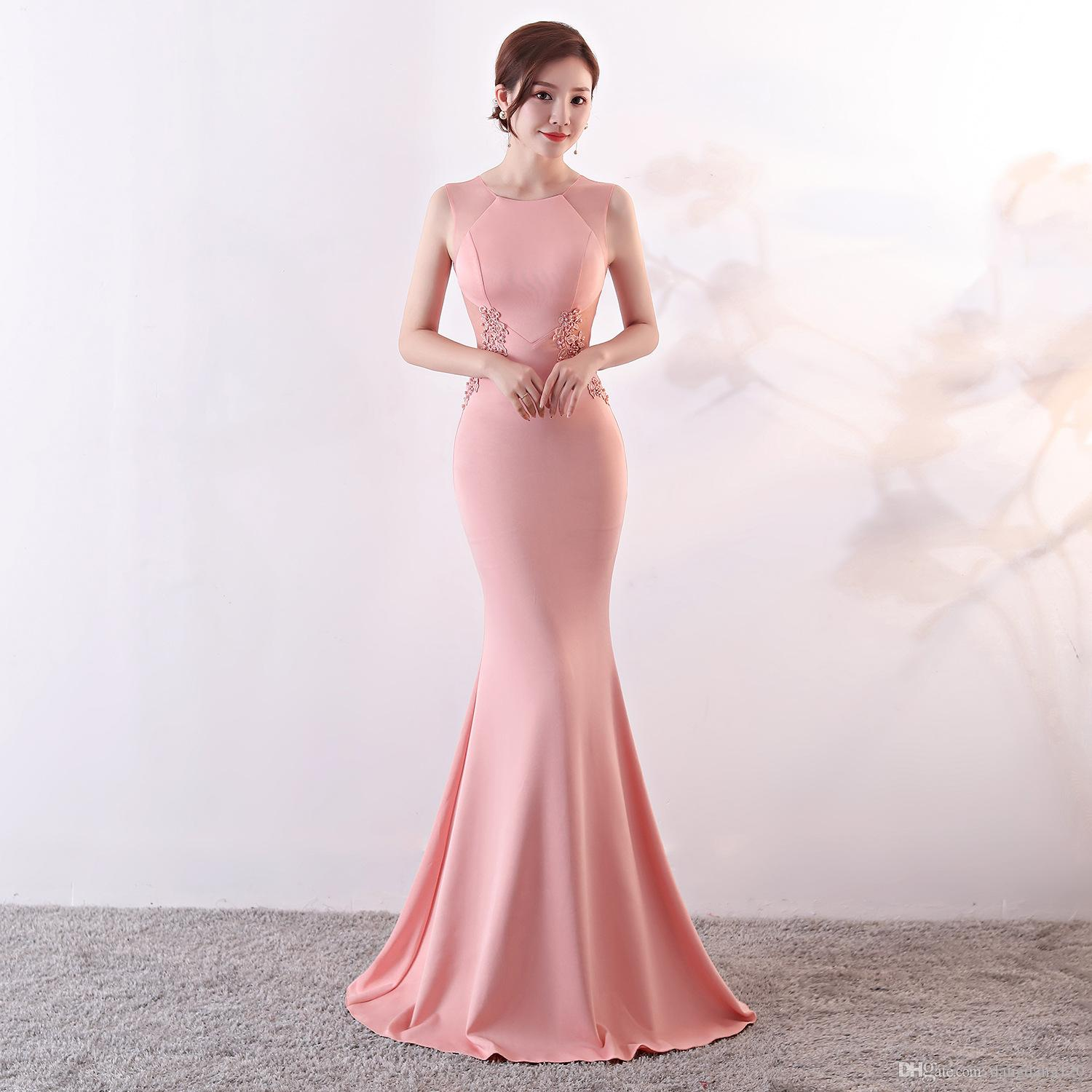 ... long evening dresses elegant Lace flowers beading sexy mermaid trumpet  long prom party dress elasticity robe ... 6875f10afcd7