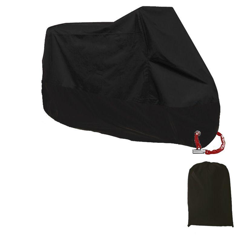OHANEE cubierta de la motocicleta All Season impermeables a prueba de polvo de protección UV para interior-exterior-Lock agujeros Diseño moto cubierta de la lluvia