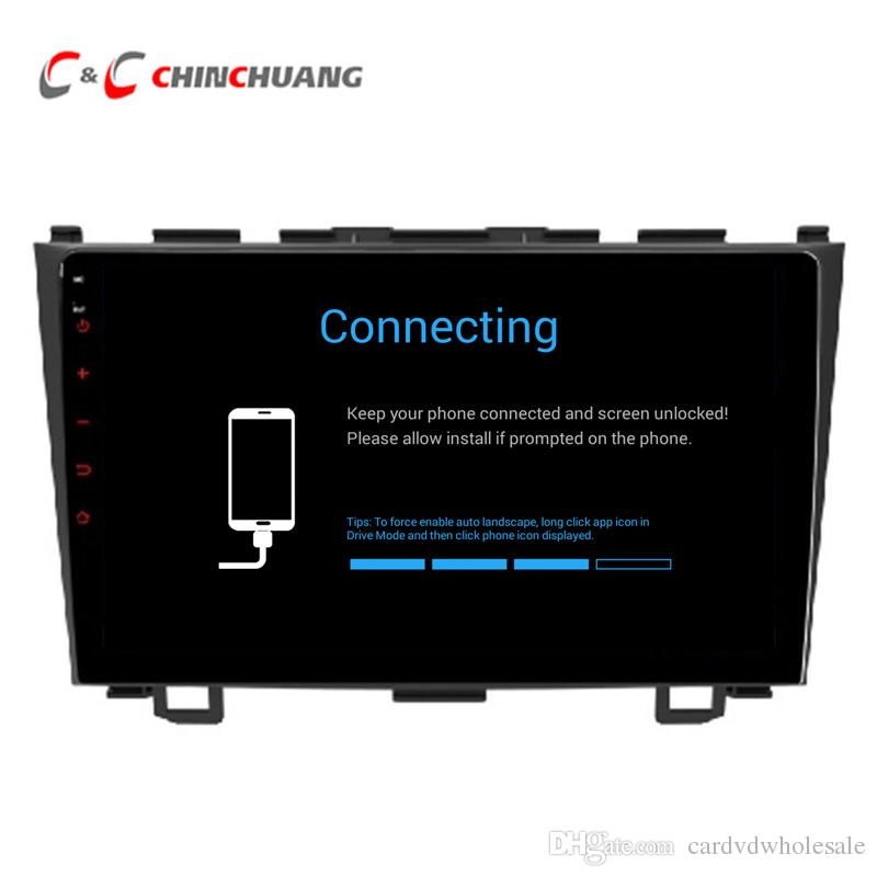 Updated ! T8 Octa-core Android 8.1 Car DVD Player for Honda CRV CR-V 2006-2011 With GPS Radio BT Wifi 4G DVR 2G RAM