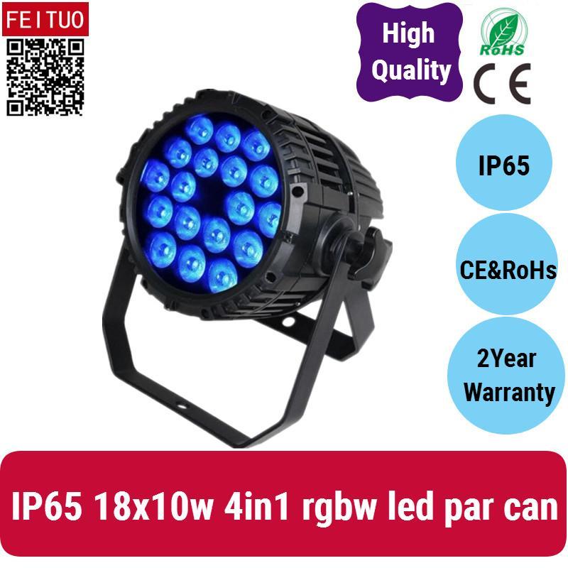 실외 8 채널은 18 * 10w 방수 LED 파 광은 RGBW DMX 64 파, LED 파 RGBW 주도