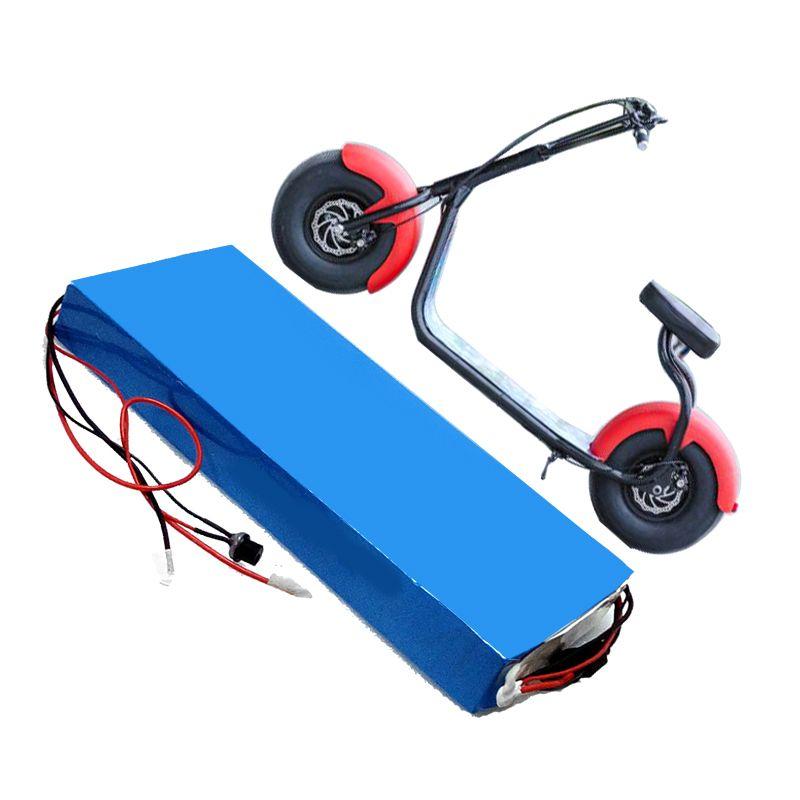 Ücretsiz kargo AB ABD AU yüksek kalite 18650 60 v 20ah li ion elektrikli scooter için pil 1000 w / 2000 w / 3000 w motor + 30A BMS