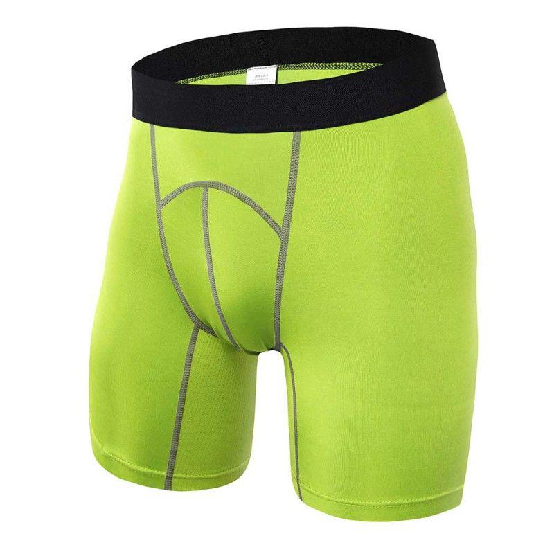 New Male Gym-Clothing Compression Tights Shorts Basketball Bermuda Masculina Men Gym Short Pants