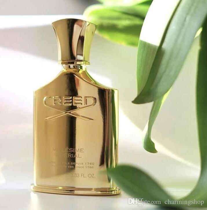 2018 New Creed perfume Millesime Imperial for men and women 100ml with long lasting time good quality high fragrance capactity Free Shipping