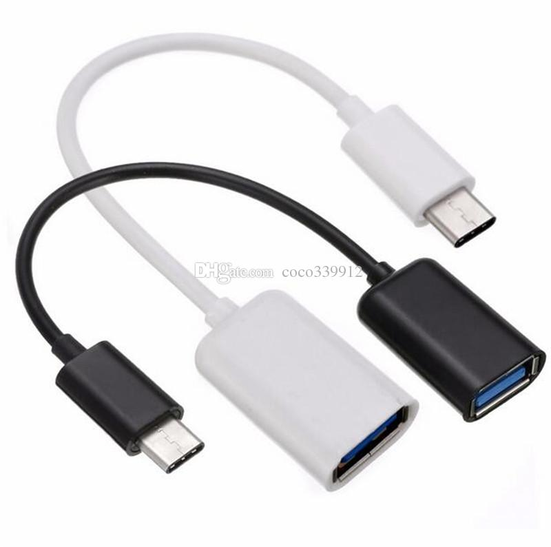 Geflochten USB Typ-C Rechter Winkel Plug Power Daten kabel Adapter Kable