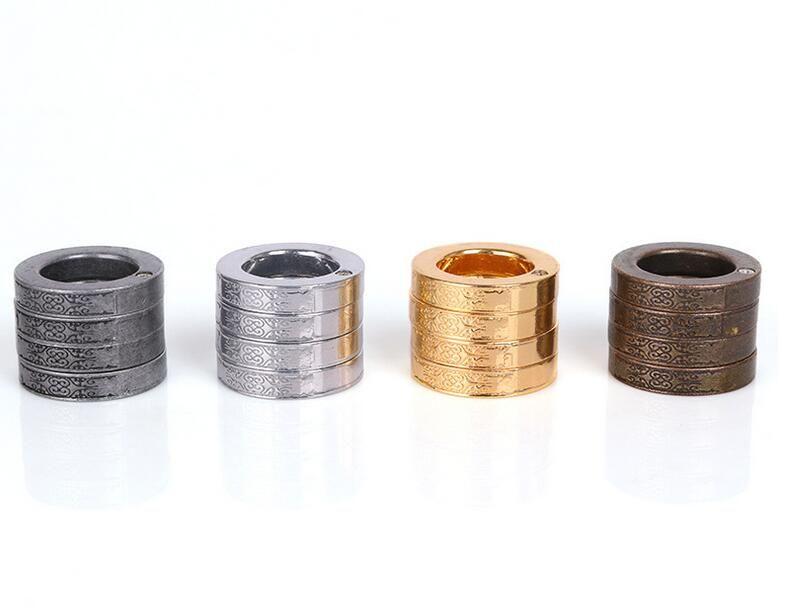 Promtion nocche anello esterno portatile ornamento Autodifesa Autodifesa strumento di auto-difesa attrezzature regalo di natale di EDC tasca Strumenti