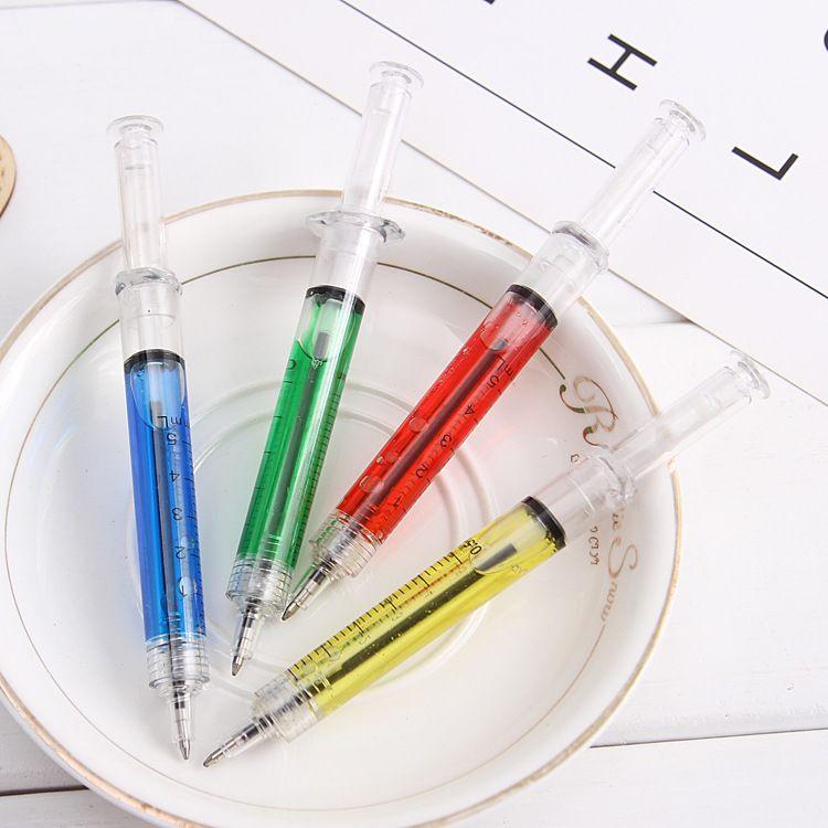 Новинка шприц шариковая ручка мода студент ручки рекламные подарки ручка для больницы медицинская сестра доктор W7168