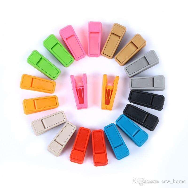 Resuable зажим для галстука универсальные влажные и сухие вешалки для одежды простой в использовании ABS пластик прищепка нет следов