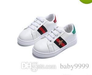 babcedd16 New GUCCI Designer Pink Gold Silver Eur26-36 Rivets Kids Sneaker High  Quality Children Shoes Girls Boys Shoes 2pcs/lot #311