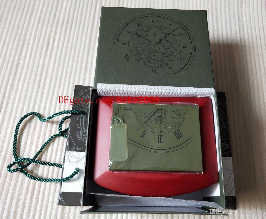 Excelente Offshore Relógio De Pulso Original Caixa De Madeira Caixas De presente festival de Uso Da Bolsa 15400 15710 15703 26703 26470 Suíça 3120 3126 Relógios