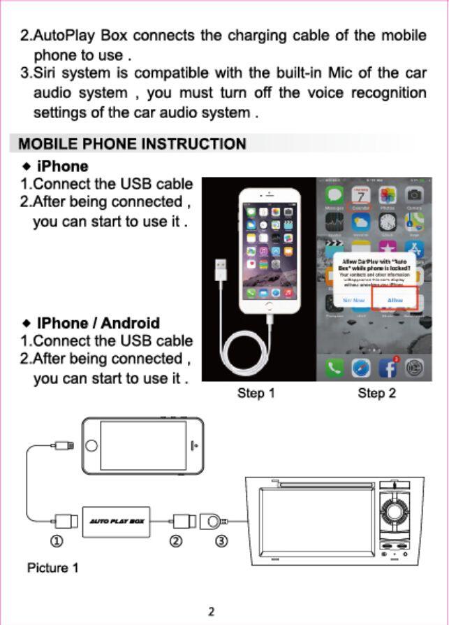 iPhone voiture radio Hook up